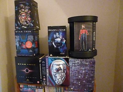 Star Trek video collectable boxed sets