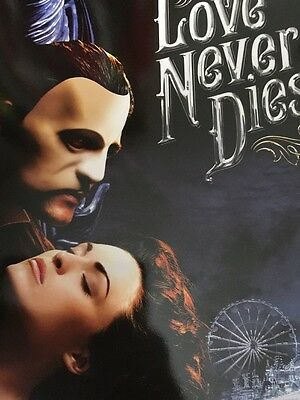 Flash Sale £50 Off Love Never Dies Signed Ramin Karimloo, Celia Graham Programme