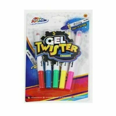 5 Glow Gel Twister Pens Creation In The Dark Moon Bedroom Paint Wall Celling