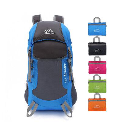 Outdoor Sports Travel Climbing Camping Hiking Waterproof Backpacks Day Pack Bags
