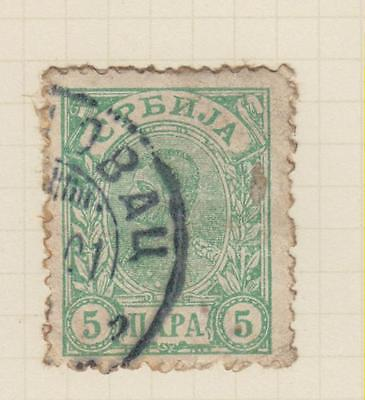 Ls81  Early Stamp  From Serbia From An Old Album