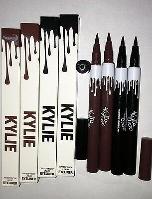 Kylie Waterproof Liquid Eyeliner BLACK & BROWN  UK seller