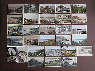 Jersey - collection of 29 vintage / old postcards - see below