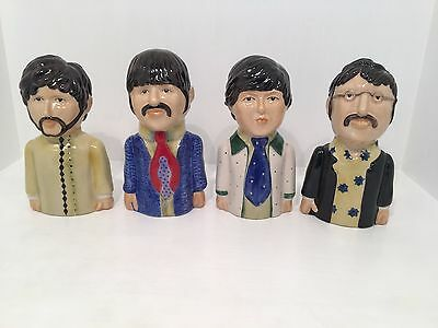 Peggy Davies The Beatles Yellow Submarine Figurines Artist Proof RARE *MINT*