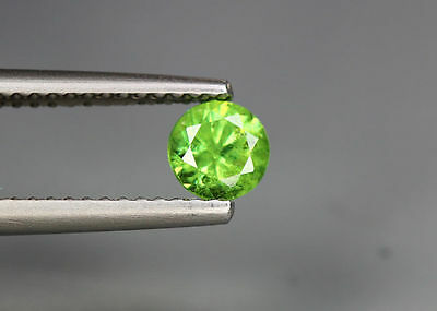 0.60 Cts_Amazing Gem Miracle Collection_100 % Natural Russian Demantoid Garnet