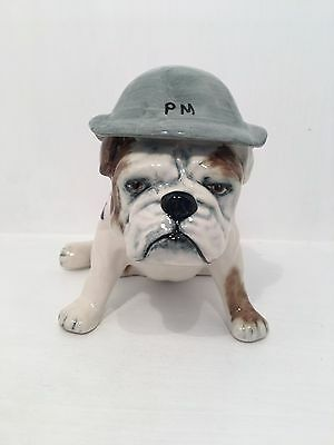 Carltonware Sitting PM British Bulldog with Union Jack *Perfect Condition*