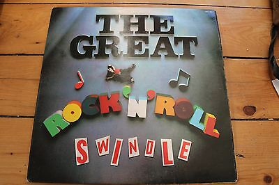 Sex Pistols FRENCH DOUBLE Great Rock'n'Roll swindle  LP on Barclay!!!!!