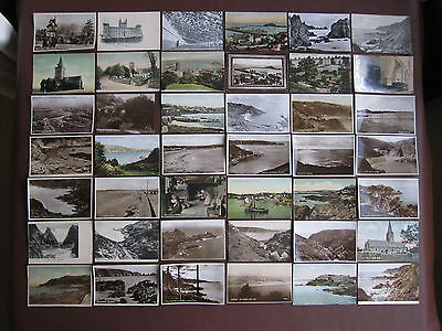 Guernsey - collection of 101 vintage / old postcards + 1 lettercard - see below