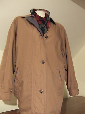 Ladies Vintage Fully Lined Nuage Outdoor/Walking Coat/Jacket  Size 12