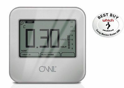 OWL Wireless Energy Monitor - helps REDUCE electricity bill by up to 15%