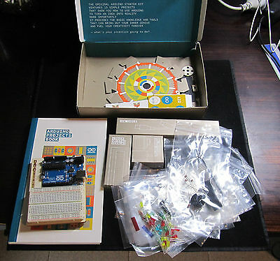 Arduino Official Starter Kit with Uno Board & Projects Book Original Box