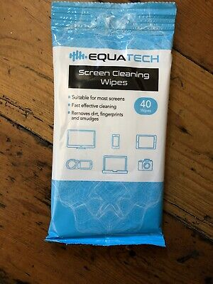 40 Screen Clean Screen Cleaning Wipes Suitable For LCD TFT And Plasma Screens