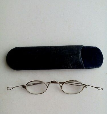 vintage spectacles glasses with case