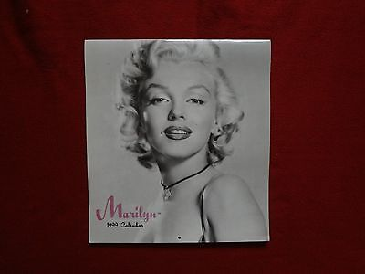 Marilyn Monroe 1999 calendar Solid vg+ condition