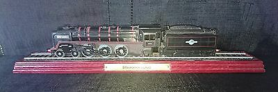Vintage Collectors Mounted Britannia Class Model Train