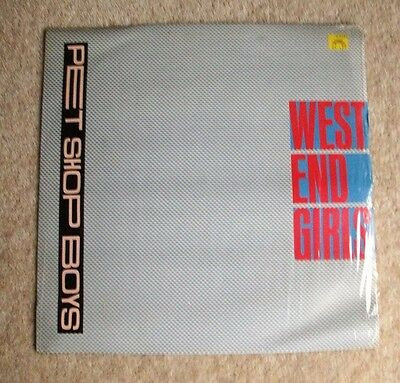 "Pet Shop Boys - West End Girls (Dance Mix) - 12"" Single 1985"