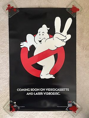 GHOSTBUSTERS II Original Video Store Poster