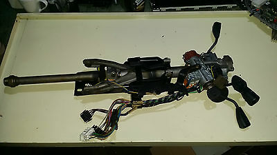 Bmw 7 Series 750 Il E32 Steering Column With Key And Switches Cruise Control