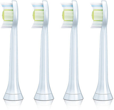 4 x Heads Fit For Philips Sonicare HX6064 DiamondClean Standard Sonic Toothbrush