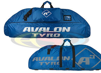 Avalon A3 Tyro Blue Archery Compound Bow Bag Case Heavy Duty W/ Strap & Pocket