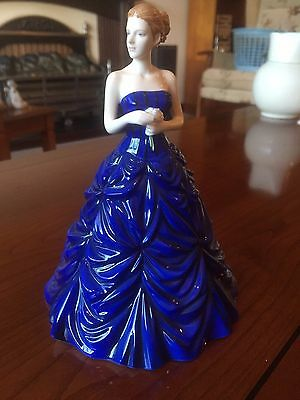 Royal Doulton Occasions Figurine Young Girl with Flowers