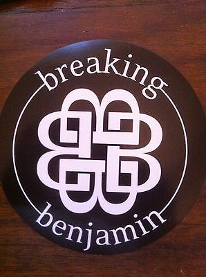 Breaking Benjamin promo sticker for the We Are Not Alone cd out of print