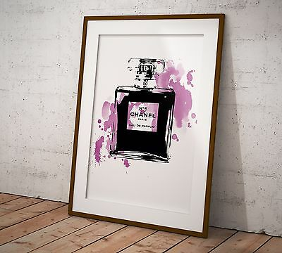 Chanel No 5 Print/Poster Two Sizes Print Poster Coco Olivia Valentine 2017©
