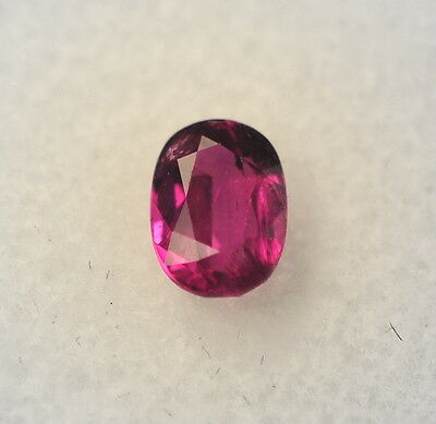 Natural 1.18 Carat Genuine Red Ruby Loose Stone Oval