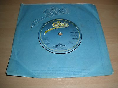 """Abba  7"""" Vinyl C/s I Have A Dream / Take A Chance On Me S Epc 8088 1979 Ex """""""