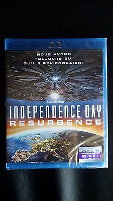 Blu Ray Independence Day Resurgence Neuf Sous Blister