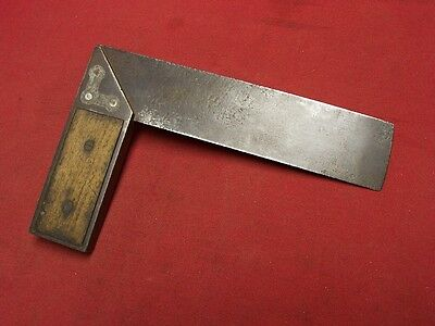 Stanley #1 Wintenbottom Patent Type  1Try/Miter Square: COLLECTIBLE
