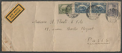 IRAQ - BAGHDAD / 1929 AIRMAIL COVER TO FRANCE (ref 7450)