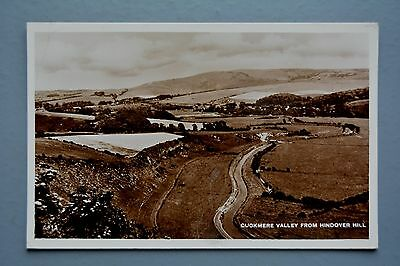 R&L Postcard: Cuckmere Valley from Hindover Hill, 1949