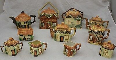 Vintage Collection KEELE ST. Pottery Hand Painted Cottage Ware Tea Pot -250