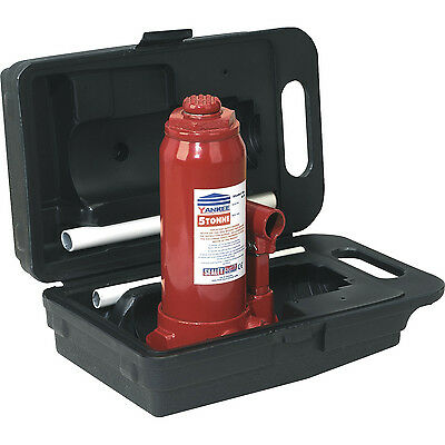 Sealey 5t Yankee Bottle Jack with Carry Case