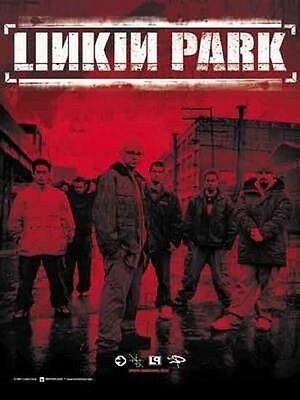 Linkin Park Red Band Textile Poster Flag