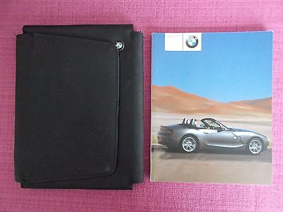 Bmw Z4 Roadster (2003 - 2006) Owners Manual - Owners Guide - Handbook.  Acq 5116