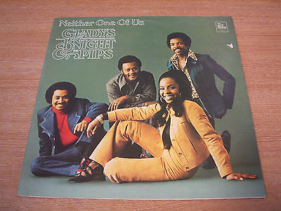 gladys knight & the pips neither one of us uk motown  label  vinyl lp  mint -