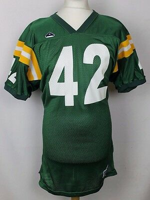#42 Vintage Green Bay Packers Style American Football Jersey Mens Xl Athletix