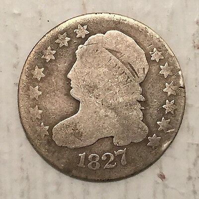 1827 10C Capped Bust Dime G