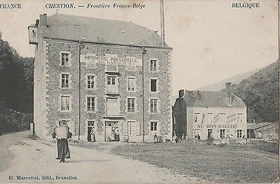 Chestion    Frontiere  Franco - Belge