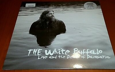 "White Buffalo Love And The Death Of Damnation White Vinyl Signed + 7"" Vinyl"