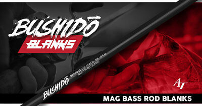 Bushido Inshore & Freshwater Series Rod Blanks See Discription