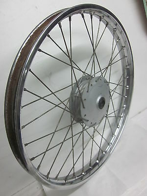 XL125 K 74-76 Vorderrad front wheel assembly DID 1:40x21