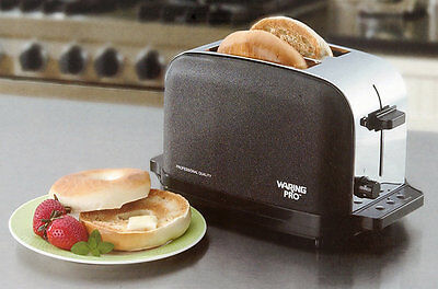 Waring WCT702RB Onyx Professional 2 Slice Toaster 1 Year Warranty