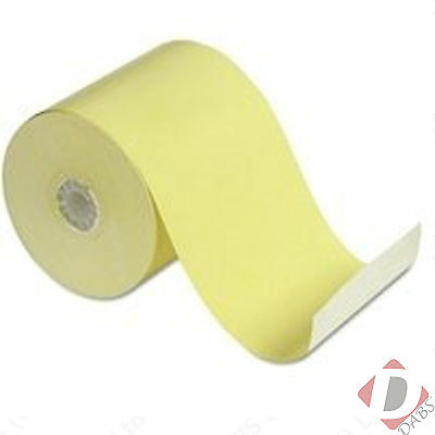 Roltech Thermal Till Roll 57mm x 51mm Yellow Box of 20 Rolls - RE11037
