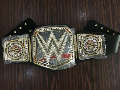 WWE Replica Belt black adult size 48 Inch with belt case