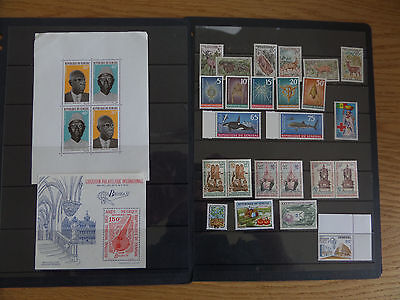 Senegal Unmounted mint collection