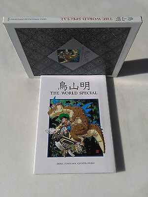 Akira Toriyama The World Special With Cardboard Box Second Edition 1995