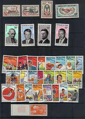 Chad 1965-69 Four unmounted mint sets